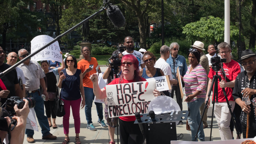 HDFC Shareholders Homeowners Rally at City Hall